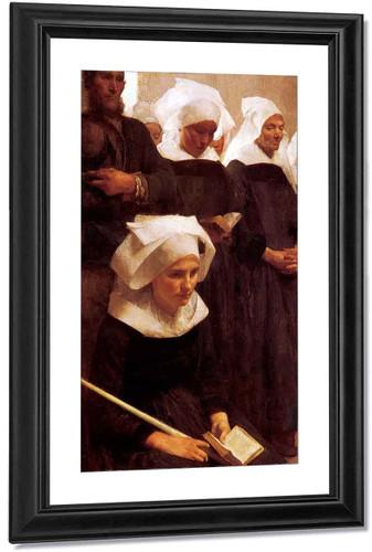 Bretons Praying By Pascal Dagnan Bouveret