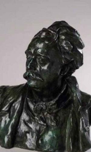 Bust Of Albert Ernest Carrier Belleuse By Auguste Rodin