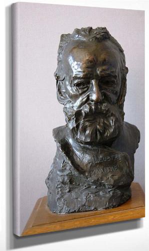 Buste De Victor Hugo (A L'illustre Maître) By Auguste Rodin(French, 1840 1917) Art Reproduction