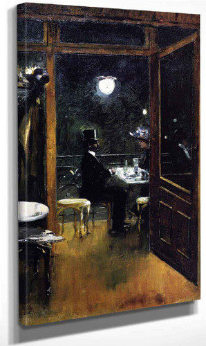 Cafe Bauer By Lesser Ury
