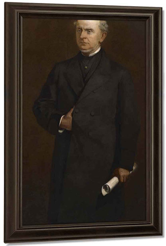 Charles Francis Adams By William Morris Hunt By William Morris Hunt