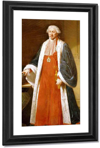 Claude Ambroise Regnier, Duke Of Massa By Robert Lefevre Art Reproduction
