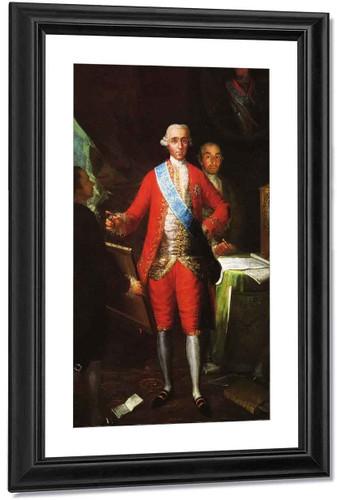Conde De Floridablanca By Francisco Jose De Goya Y Lucientes By Francisco Jose De Goya Y Lucientes