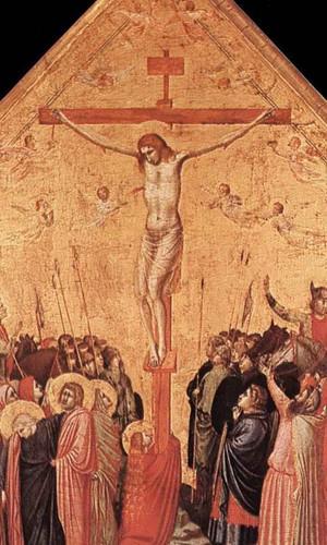 Crucifixion1 By Giotto Di Bondone By Giotto Di Bondone