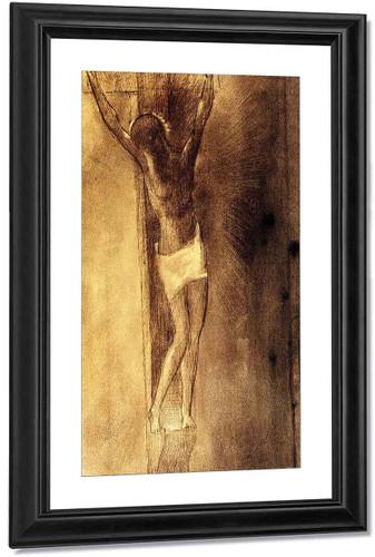 Crucifixion By Odilon Redon By Odilon Redon