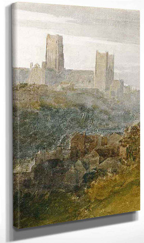 Durham By Joseph Mallord William Turner