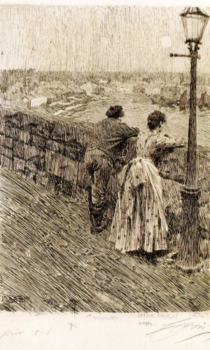 Fishermen At Saint Ives By Anders Zorn