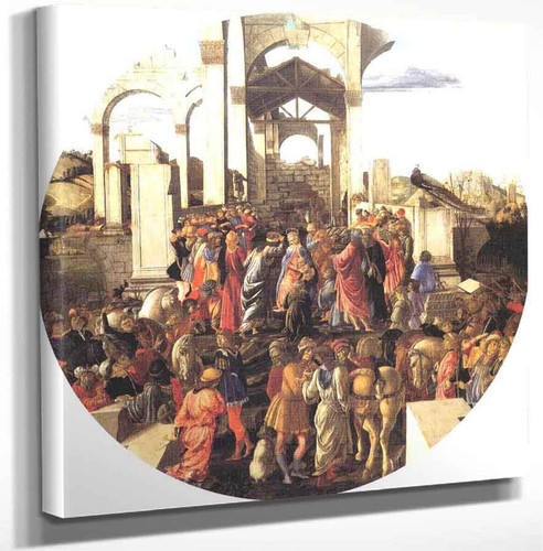 Adoration Of The Magi4 By Sandro Botticelli Art Reproduction