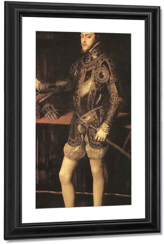 King Philip Ii By Titian