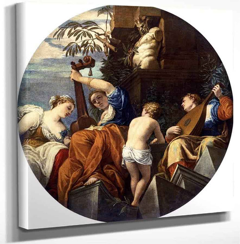 Allegory Of Music By Paolo Veronese Art Reproduction