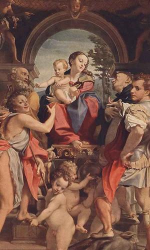Madonna With St George By Correggio By Correggio