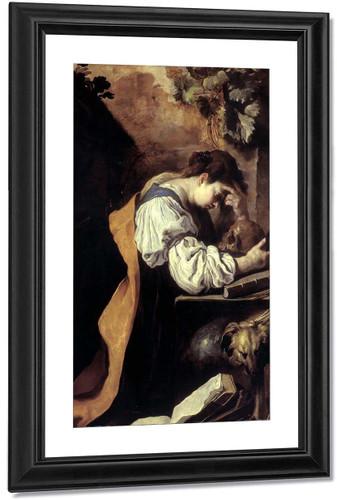Melancholy 1 By Domenico Fetti