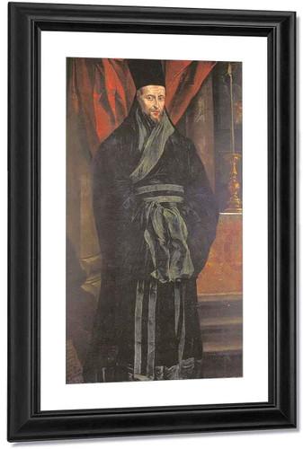 Nicolas Trigault By Peter Paul Rubens By Peter Paul Rubens