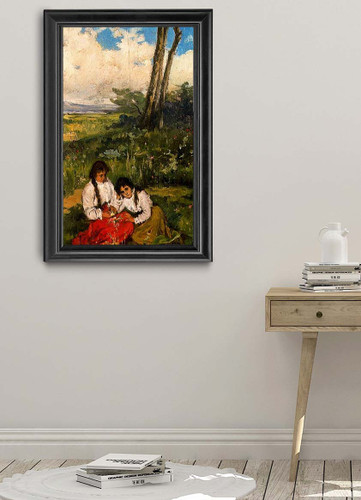 Ninas En El Prado By Jose Mongrell Torrent