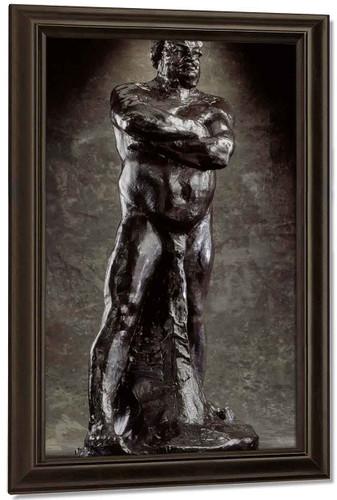 Nude Study Of Balzac By Auguste Rodin