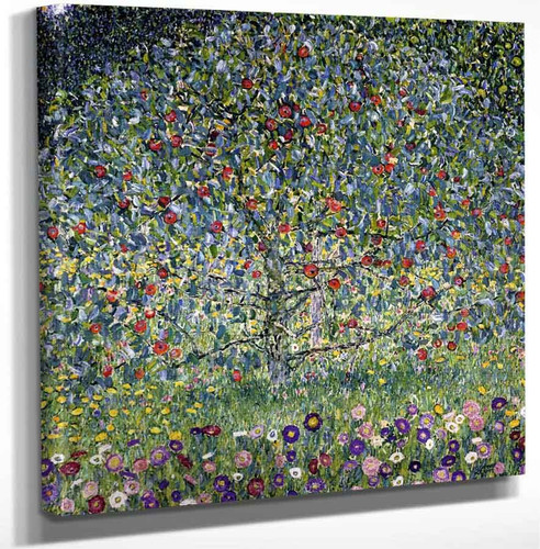 Apple Tree I By Gustav Klimt Art Reproduction