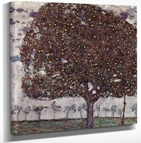 Apple Tree Ii By Gustav Klimt Art Reproduction