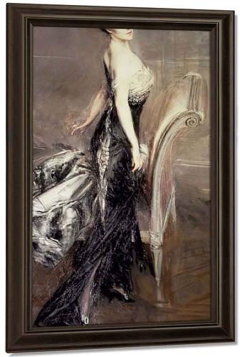 Portrait Of A Lady3 By Giovanni Boldini By Giovanni Boldini