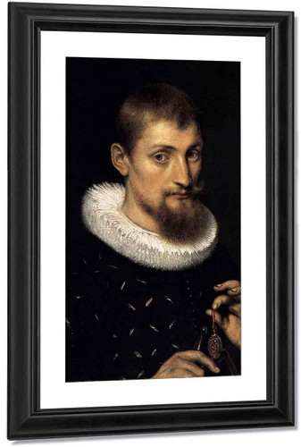 Portrait Of A Young Scholar By Peter Paul Rubens By Peter Paul Rubens