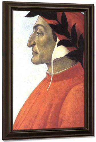 Portrait Of Dante By Sandro Botticelli