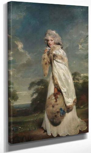 Portrait Of Elizabeth Farren By Sir Thomas Lawrence