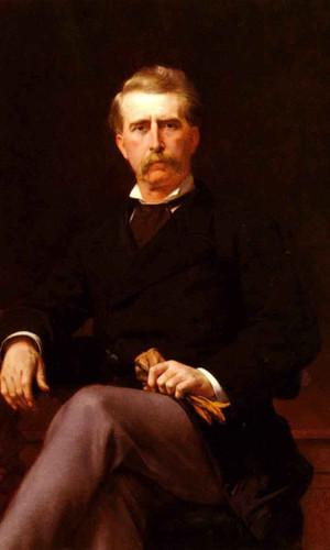 Portrait Of John William Mackay By Alexandre Cabanel