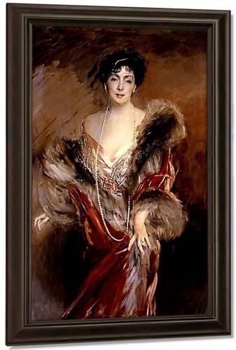 Portrait Of Madame Josephina A. De Errazuriz By Giovanni Boldini By Giovanni Boldini