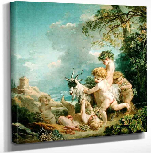 Autumn By Francois Boucher Art Reproduction