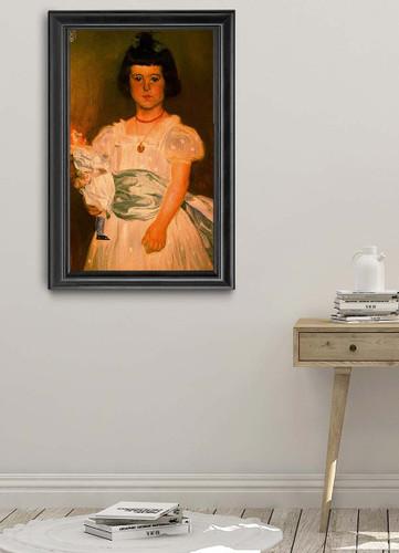 Retrato De Dona Maria Teresa De Pinies Y Roca De Togores By Jose Mongrell Torrent