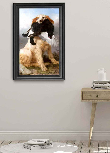 Retriever With Black Capercaillie By Richard Ansdell