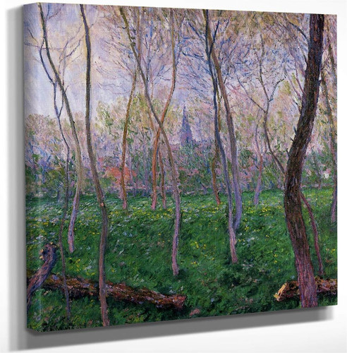Bennecourt By Claude Oscar Monet Art Reproduction