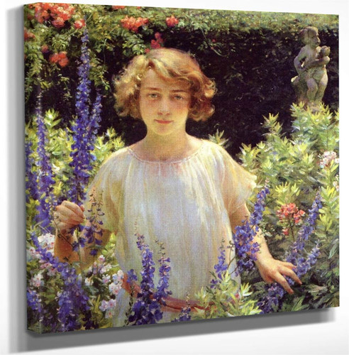 Betty Gallowhur By Charles Courtney Curran Art Reproduction