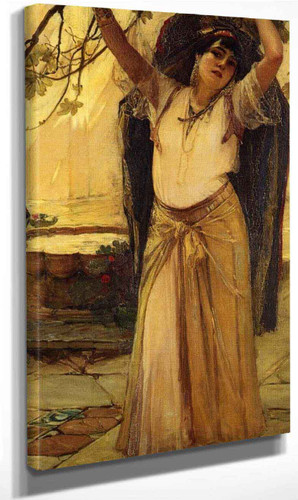 Spanish Lady By Frederick Arthur Bridgman