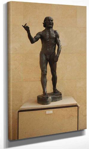 St John The Baptist Preaching By Auguste Rodin