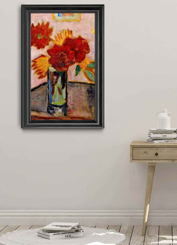 Still Life With Flowers By Alexei Jawlensky By Alexei Jawlensky