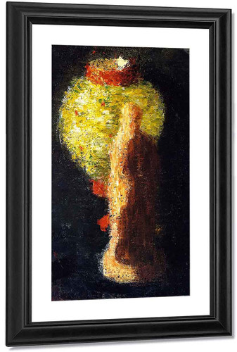 Tanagra Figure With Lampion By Alexei Jawlensky By Alexei Jawlensky