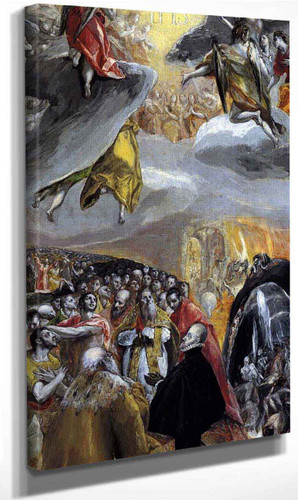 The Adoration Of The Name Of Jesus1 By El Greco By El Greco