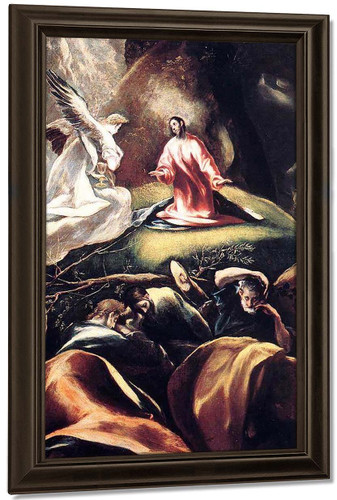 The Agony In The Garden1 By El Greco By El Greco