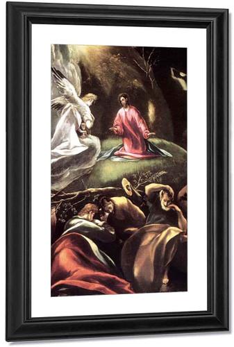 The Agony In The Garden2 By El Greco By El Greco