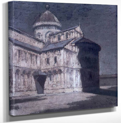 Cathedral Of Pisa By Olga Boznanska Art Reproduction