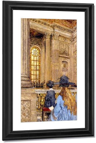 The Chapel At The Château De Versailles By Edouard Vuillard(French, 1868 1940) Art Reproduction
