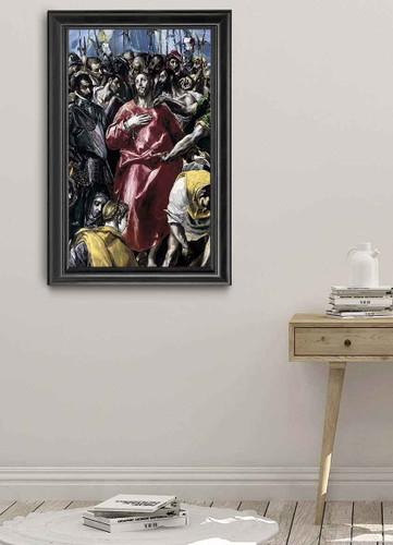 The Disrobing Of Christ By El Greco By El Greco