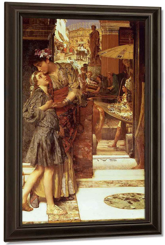 The Parting Kiss By Sir Lawrence Alma Tadema