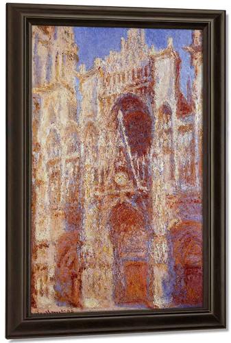 The Portal In The Sun By Claude Oscar Monet
