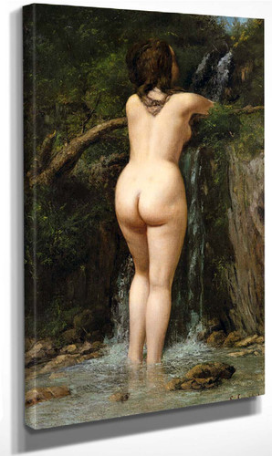 The Source 2 By Gustave Courbet By Gustave Courbet
