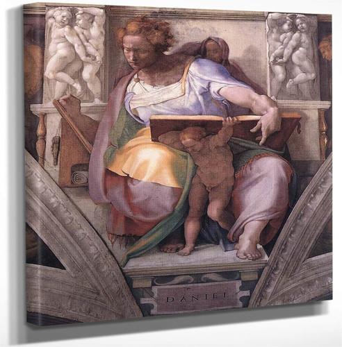 Daniel By Michelangelo Buonarroti Art Reproduction