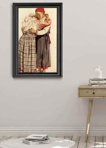 Two Woman. By Ilia Efimovich Repin By Ilia Efimovich Repin