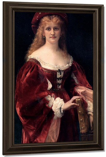 Venetian Lady By Alexandre Cabanel