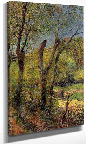 Willows By Paul Gauguin By Paul Gauguin