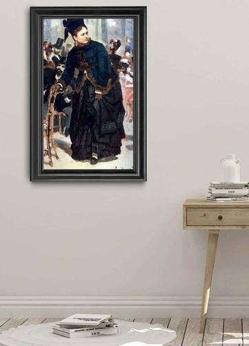 Woman . By Ilia Efimovich Repin By Ilia Efimovich Repin